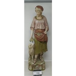Victorian Royal Dux Figurine