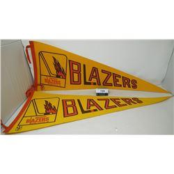 2 Vancouver Blazers Pennants