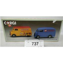 Corgi Limited Edition Bedford Ca And Morris J Vans In Box