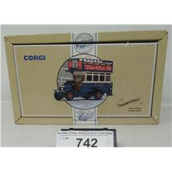 Corgi Classics Commercials Thorny Croft Double Decker Bus In Box