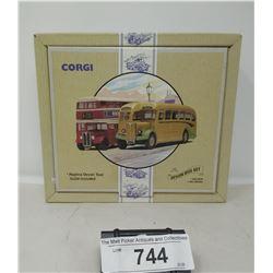 Corgi Classics Commercials Devin Bus Set In Box