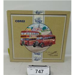Corgi Classics Commercials The Buses Of Coventry In Box