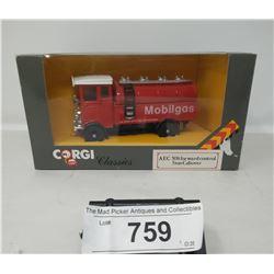 Corgi Classics Aec Forward Control 5 Ton Cabover Mobile Gas Truck In Box