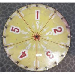 1940S Pne Gambling Wheel