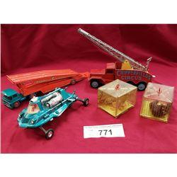 3 Die Cast Vehicles, 2 Corgi, Matchbox