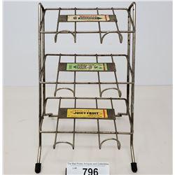 Vintage Wrigleys Spearmint Gum Store Display Rack