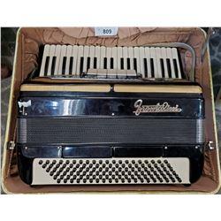 Frontalini Accordion Vintage With Original Case