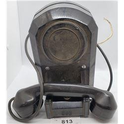 Vintage Bakelite Wall Telephone