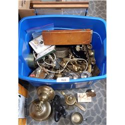Misc Brass Jugs, Ashtrays, Collectibles