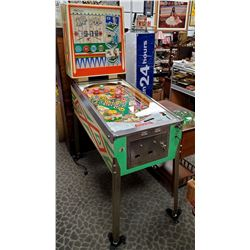 Vintage Williams Skill Pool Pinball Machine In Working Order With Keys