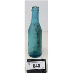 Early Straight Side Misspelled Coca Coca Glass Bottle