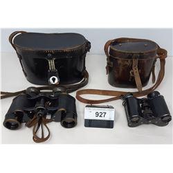 2 Vintage Binoculars