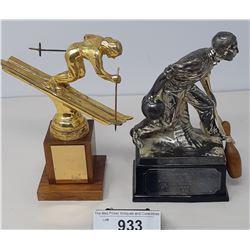 2 Vintage Trophies