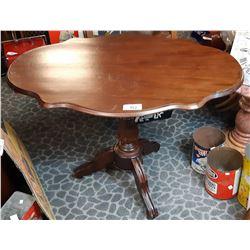 Vintage Mahogany Folding Hall Table