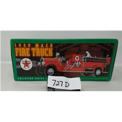 Texaco 1929 Mac Fire Truck In Box