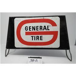 General Tire Display Rack Vintage