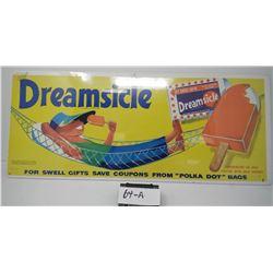 Original Paper Dreamsicle Sign