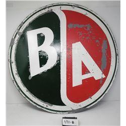 Round Original BA Truck Sign