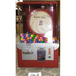 Basketball Bubblegum Dispenser