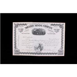William A. Clark (1839-1925) Copper King Stock