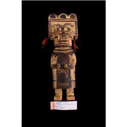 Hopi Polychrome Cottonwood Kachina Doll c. 1930's