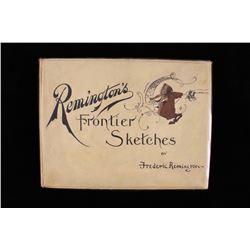 1898 1st Ed. Remington's Frontier Sketches