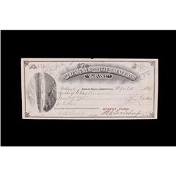 1895 Charles Russell City of Great Falls Paycheck