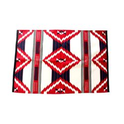 Third Phase Chiefs Blanket Wool Rug by P. Montaño