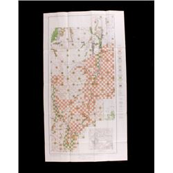 Land Office Map of Southwestern Wyoming 1906