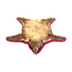 Montana Cinnamon Black Bear Hide Rug Taxidermy