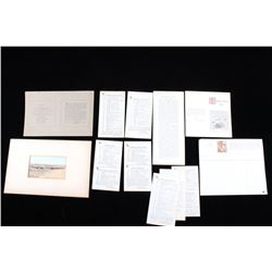 L. A. Huffman Paper Ephemera & Photo Collection