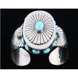 Armand American Horse Royston Turquoise Bracelet