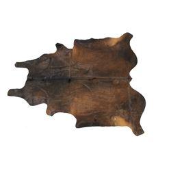 Natural Brown Cowhide Premium Rug