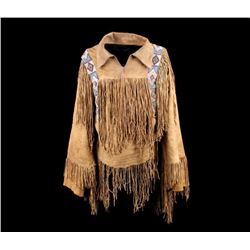 Southern Plains Beaded Scout Shirt
