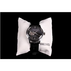 Seiko Presage Open-Heart Cocktail Automatic Watch