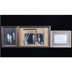 Framed Hanging Execution Photos & Invitation