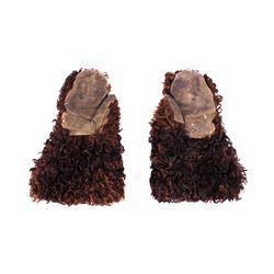Fort Keogh Nelson Miles Bear Gauntlet Gloves