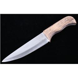 Hand Forged Montana Drop Point Knife & Sheath