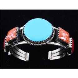 Armand American Horse Silver & Multistone Bracelet