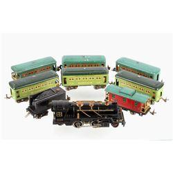 Lionel 262 Locomotive Full Train Set C. 1930's