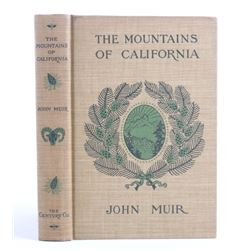 The Mountains of California by John Muir c.1904