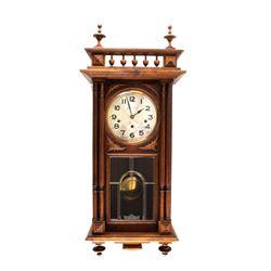 Paris, France Comptoir Cardinet Oak Wall Clock