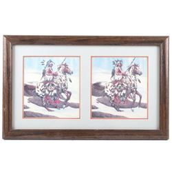Bev Doolittle Signed Guardian Spirits Framed Print