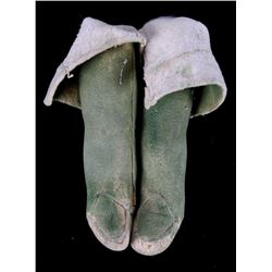 Cheyenne Doll Full Knee Moccasins C. Early 1900's