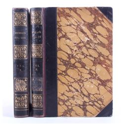 Murray's Travels in North America Vol.1&2 1st Ed.