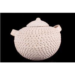 Acoma Pueblo Stella Shutiva Corrugated Pot