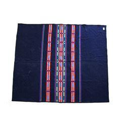 Navy Blue Pendleton Woolen Mill Blanket