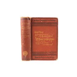 1872 Thirty Years Adventures of Dr. Livingstone