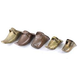 Conquistador Spanish Brass Tapadero Stirrups