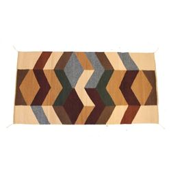 Ganado Intricate Mosaic Angora Rug by Julia Ruiz